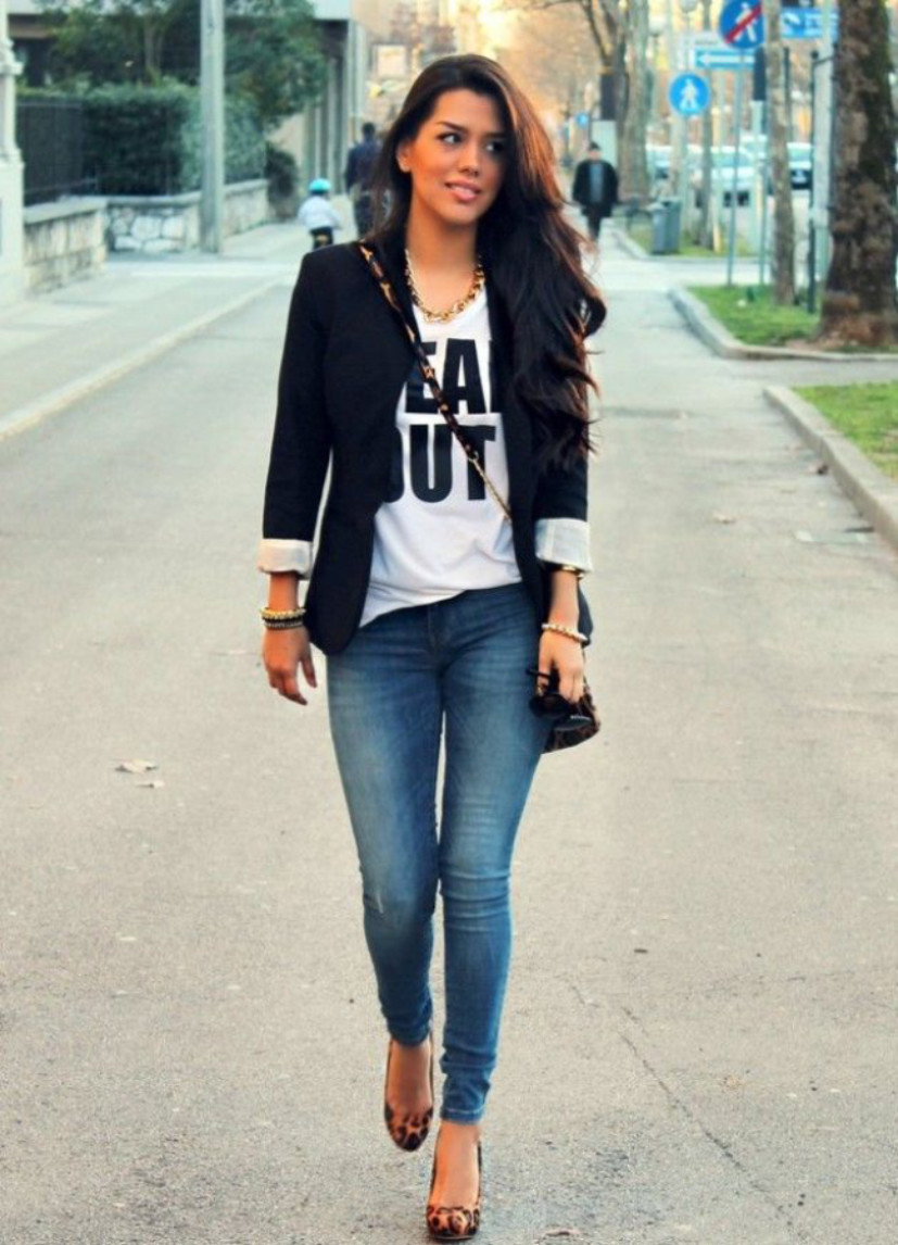 How To Wear A Blazer Jacket With Jeans  Matching Mens Blazers With Denim Video